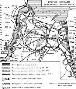 Прорвана блокада Ленинграда.  ...