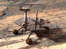 На поверхность Марса совершил...