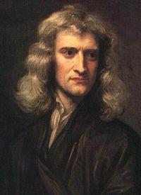 Исаак Ньютон решает проблему...