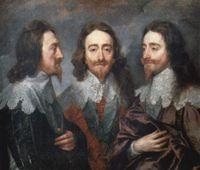 Коронован Карл I, английский...