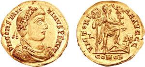 Константин III становится императором...