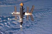 Запущена советская орбитальная станция...
