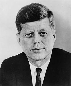 Президент США Джон Кеннеди...