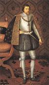 Король Шотландии Яков...