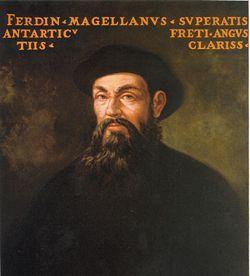 Фернан Магеллан первым из...