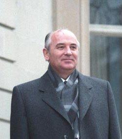 М. Горбачев во время...
