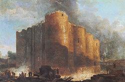 Началось строительство Бастилии.  ...