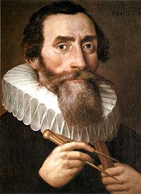 Немецкий астроном Иоганн Кеплер...