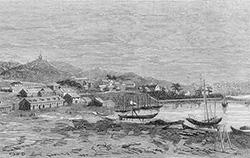 Основан Владивосток в бухте...
