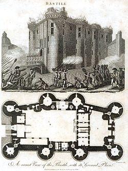 Восставшими парижанами взята крепость...