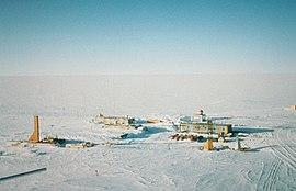 На антарктической станции «Восток»...
