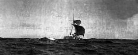 Знаменитый плот Тура Хейердала...