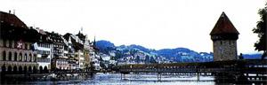 В швейцарском городе Люцерне...