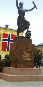В шведском городе-порте Карльстаде,...