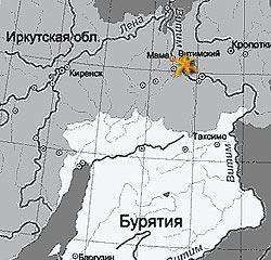 В Иркутской области, между...