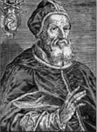 Папа Григорий XIII объявил,...