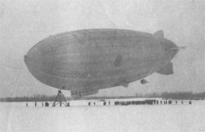 Завершился полет советского дирижабля...