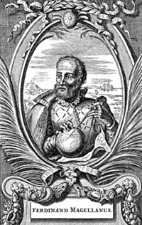 Португальский дворянин Фернан Магеллан...