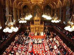Палата лордов парламента Великобритании...