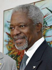Кофи Аннан был избран...