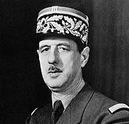 Шарль де Голль избирается...