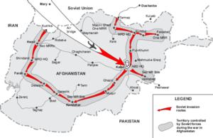 СССР вторгается в Афганистан. ...